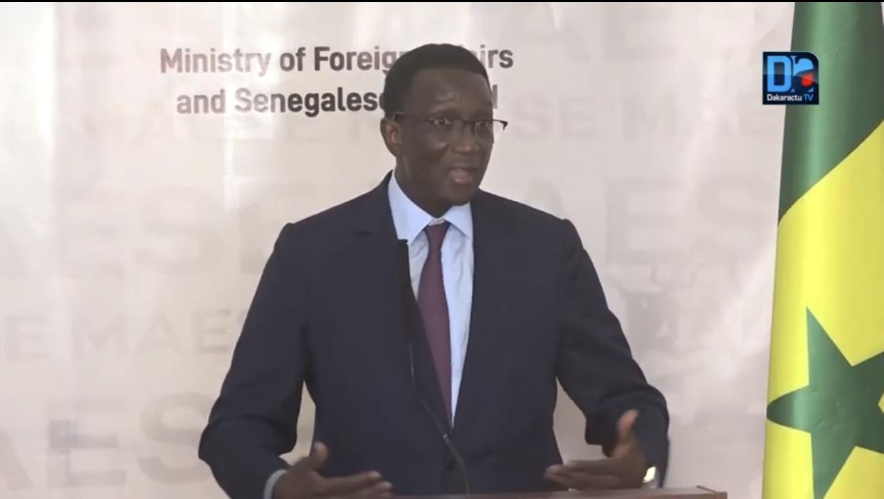 Sahel : La diplomatie Sénégalaise appelle à la mise en place d'un système de financement propre à l'Afrique.