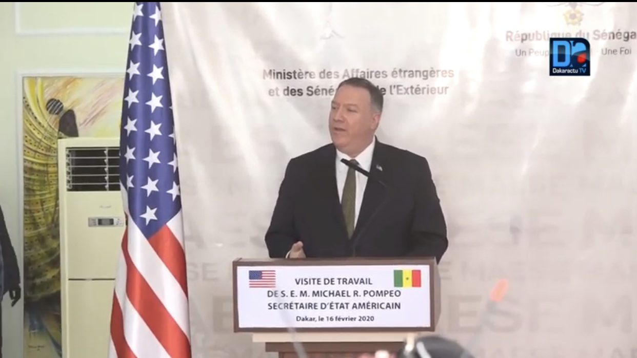 Visite du secrétaire d'État américain au Sénégal : Les raisons du choix du Sénégal.