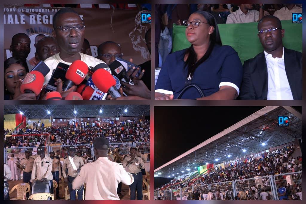 (SPORTS À DIOURBEL) Dame Diop rassure la jeunesse sur la réfection du stade.