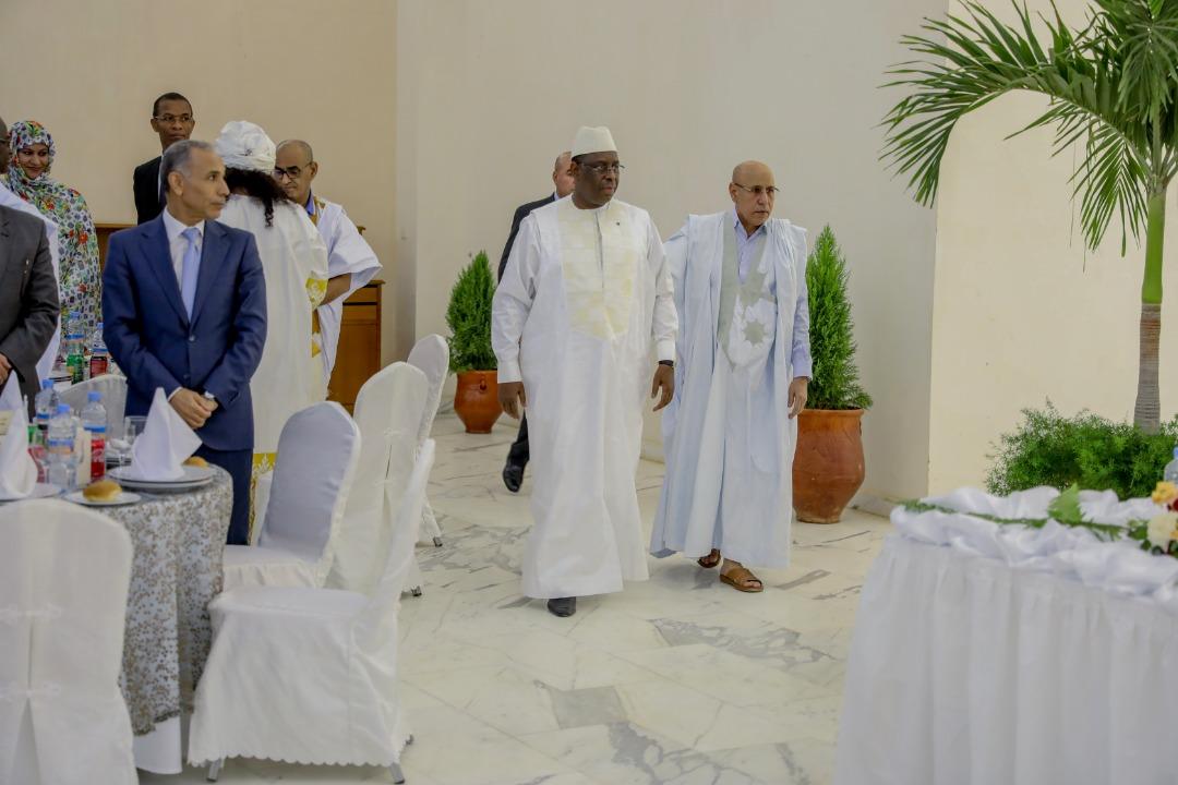 Quelques images du dîner officiel offert par le président mauritanien à l'honneur de son Homologue SE Macky Sall.