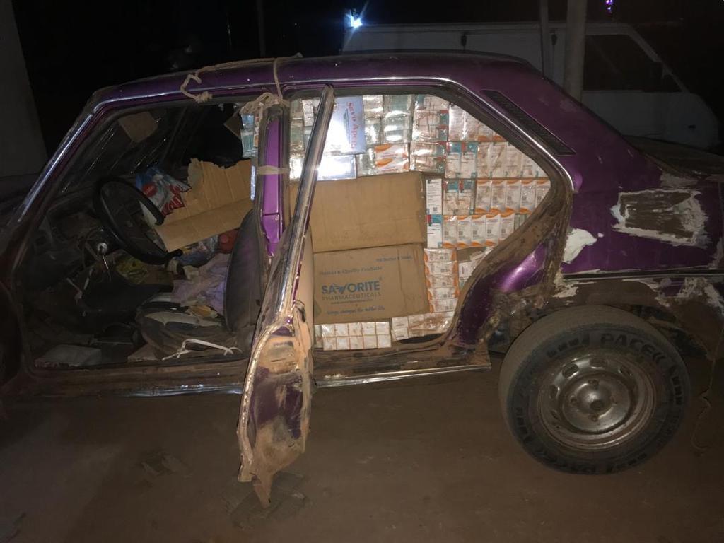 Kaffrine : La Douane saisit 1200 Kg de faux médicaments.