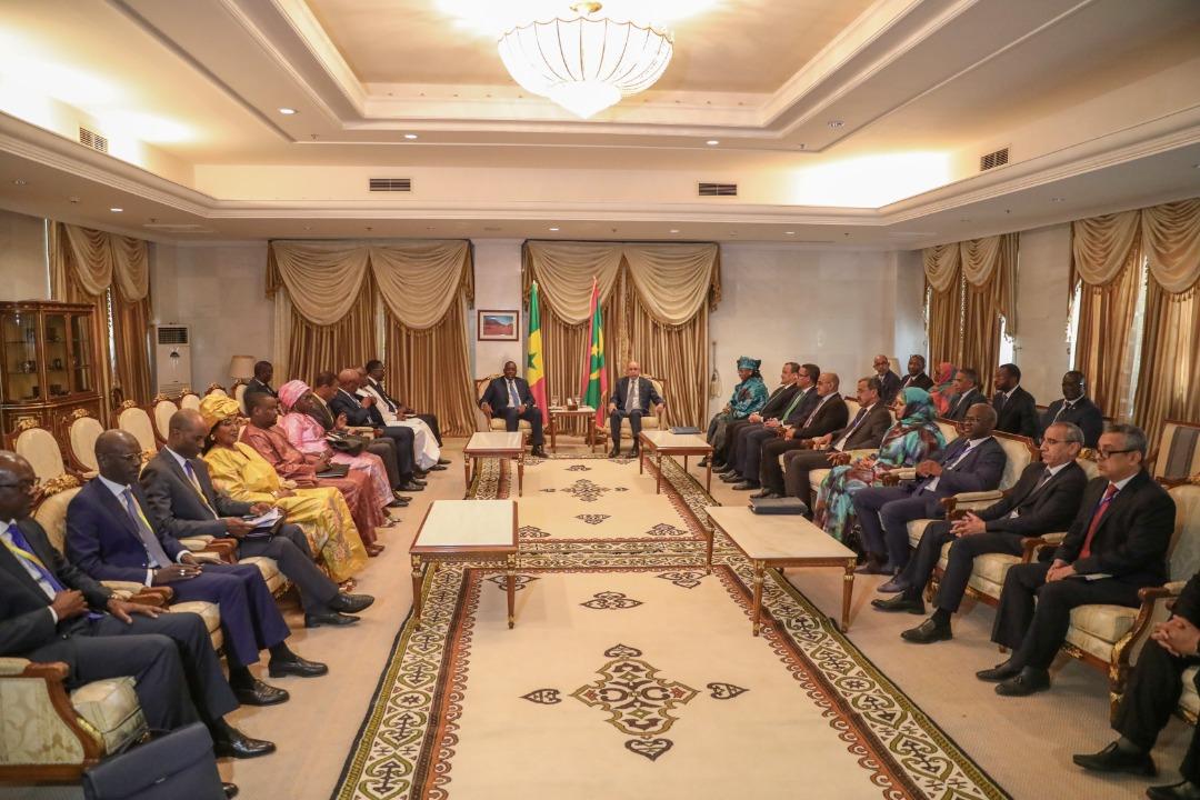 MAURITANIE- SÉNÉGAL / 5 projets d'accords entre deux pays qui décident de renforcer leur coopération dans plusieurs secteurs...