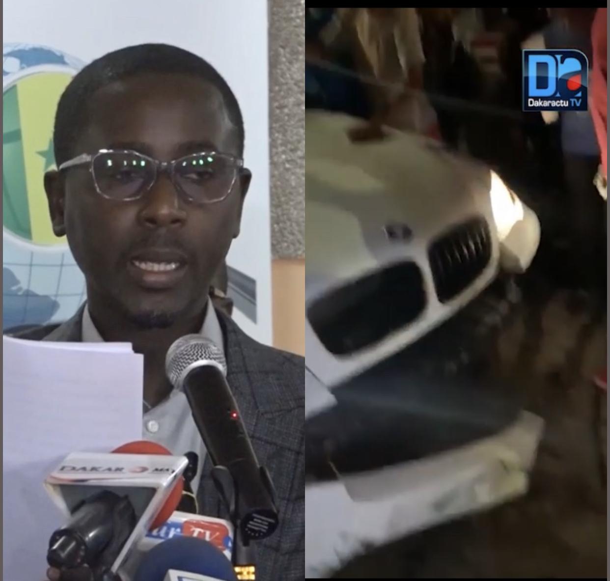 Accident avec sa voiture : Pape Alé Niang arrêté et gardé à vue pour conduite en état d'ivresse.