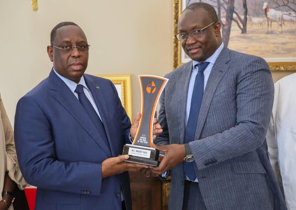 Taïba Ndiaye : Macky Sall inaugure le premier parc éolien d'utilité publique en Afrique de l'Ouest.