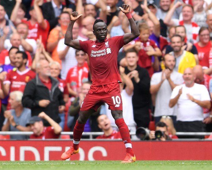 Premier League : Sadio Mané offre à Liverpool sa 18 ème victoire d'affilée.