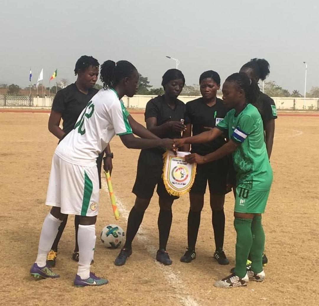 Football féminin / Tournoi UFAO A : Les « Lioncelles » concèdent le nul face à la Sierra-Leone et assurent la première place.