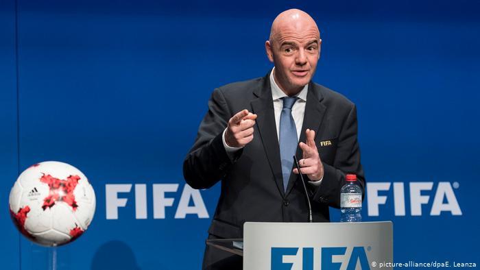 Gianni Infantino (Président de la FIFA) sur le Covid-19 : « Le football peut être un bon antidote contre la maladie »