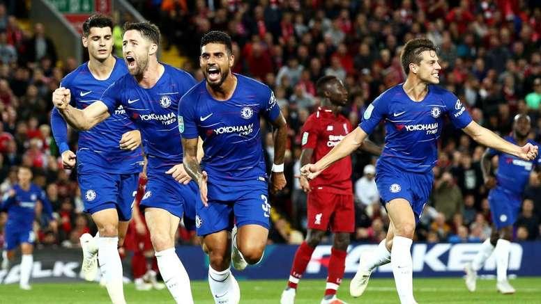 8èmes de finale FA Cup : Liverpool éliminé par Chelsea.