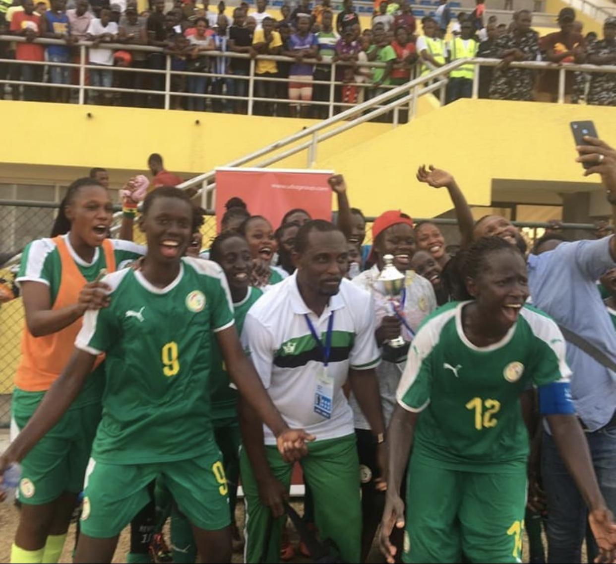 """Foot féminin / Tournoi UFOA (zone A) : Les """"Lionnes"""" écartent le Liberia et filent en finale."""