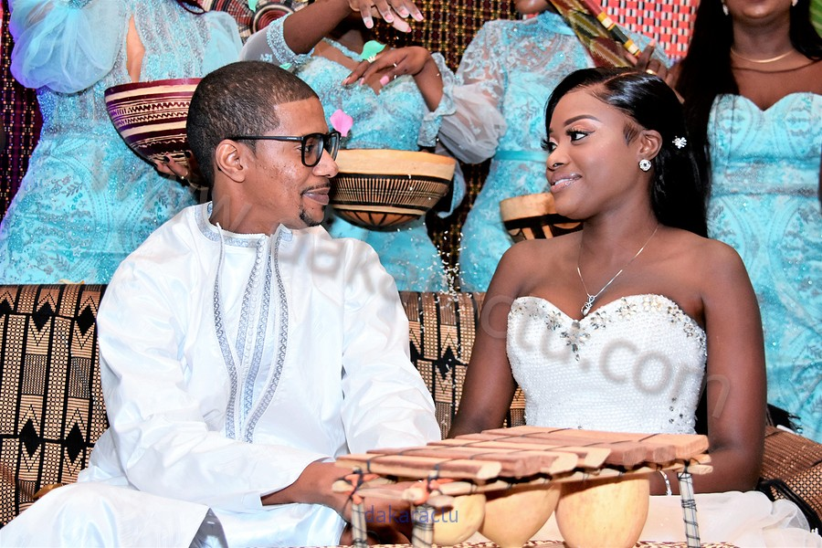 Les Images du Mariage de Bineta  Khouma Diop  homonyme de Bineta Khouma saphyr Couture et de Bassirou Diallo