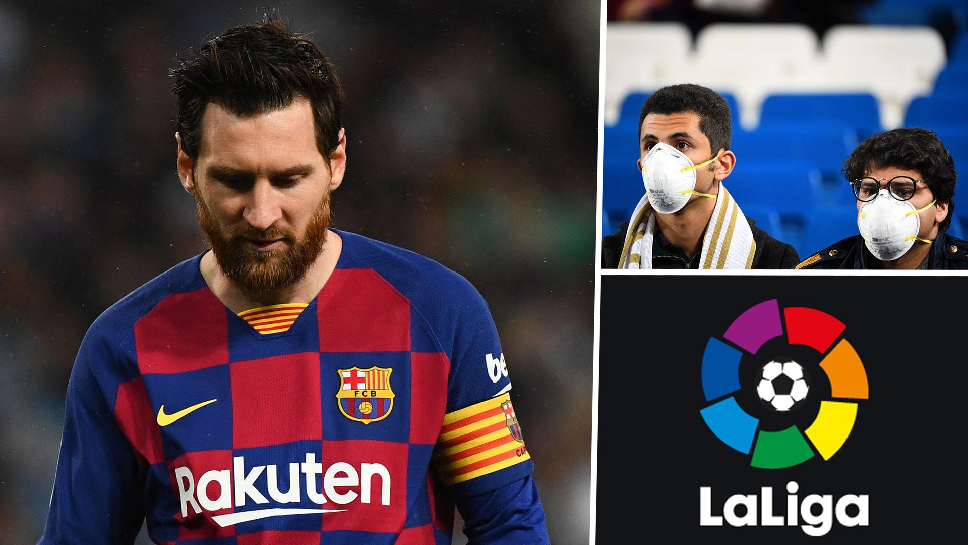 Football / Espagne : LaLiga suspendue indéfiniment à cause de la pandémie du Covid-19.
