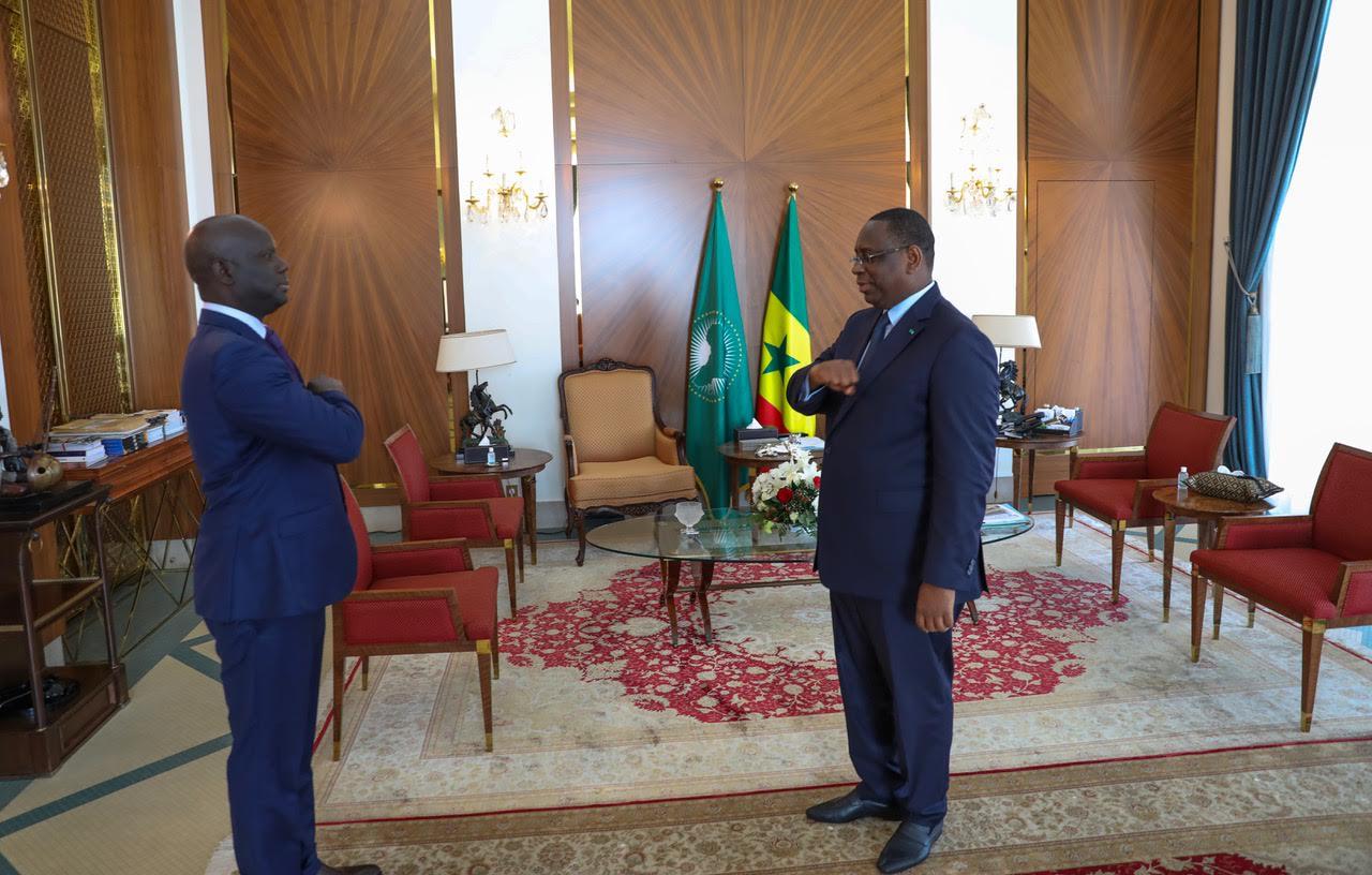 Malick Gakou : « J'ai dit au président de la République notre détermination à l'accompagner dans le combat contre le coronavirus. Mon parti va voter la loi à l'assemblée nationale  »