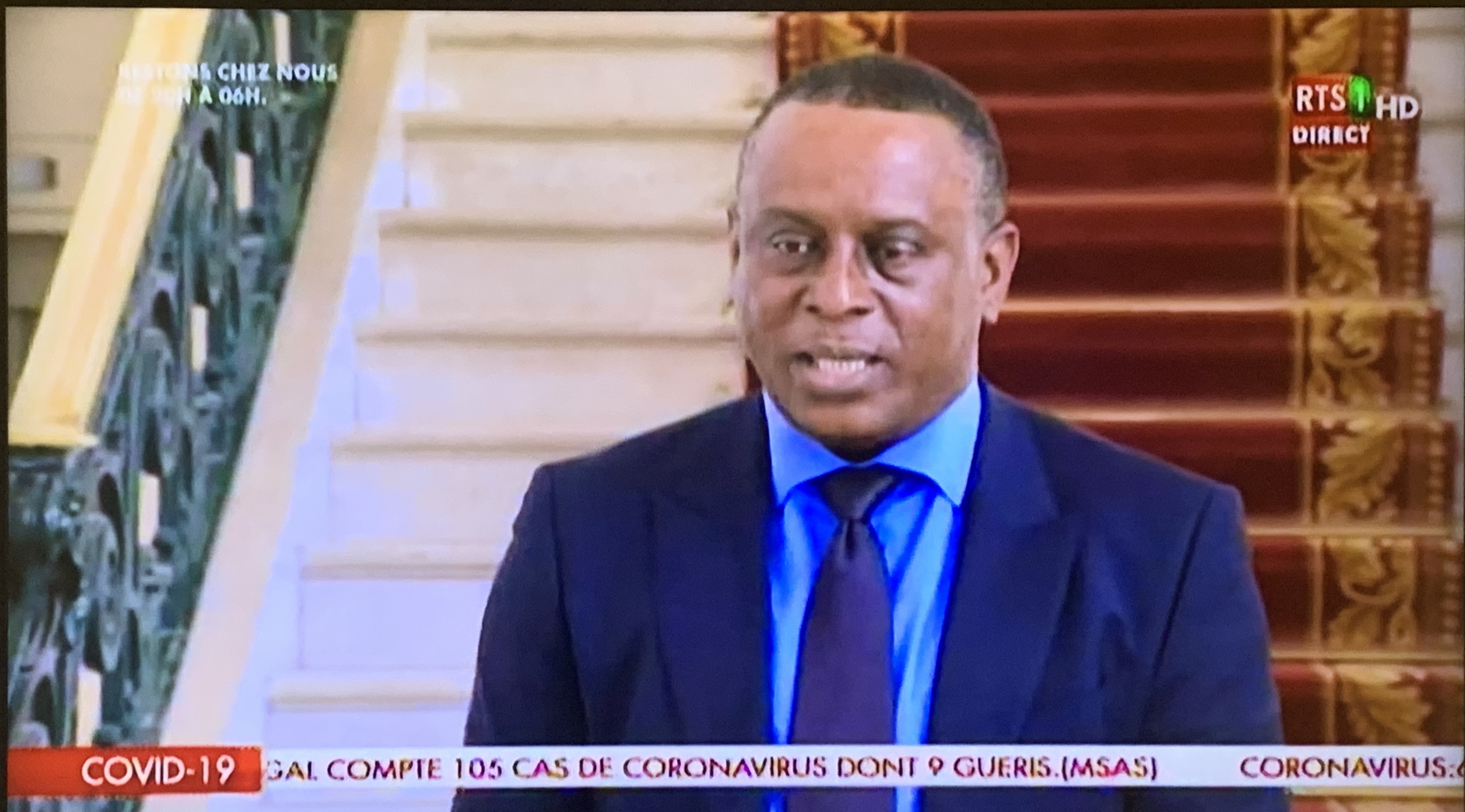 Cheikh Tidiane Gadio après son entretien avec Macky Sall : «Nous sommes un grand pays et ensemble, unis, nous sommes très forts...»