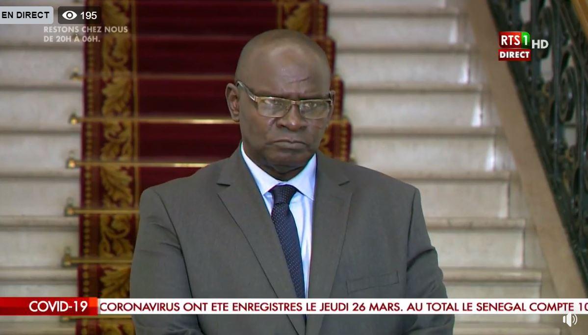 Covid-19 / Loi d'habilitation : « Cet élan d'unanimité qu'il y a autour de cette question fera passer ce texte… » (Aymérou Gningue, Président du groupe parlementaire Bby)