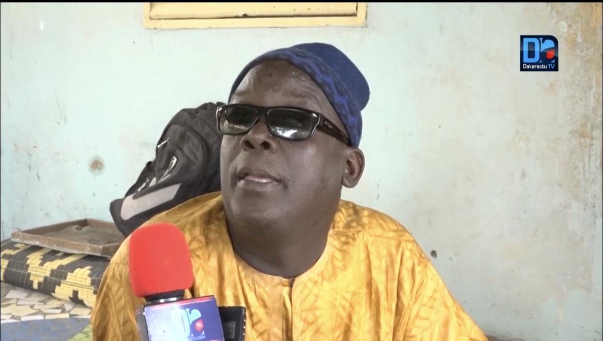 Covid-19 à Mbacké / Médoune Thiam estime que les personnes handicapées sont laissées à la merci de la pandémie.