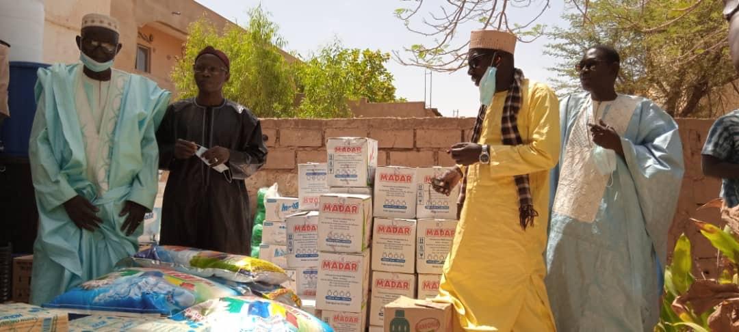 APPUI À LA RIPOSTE COVID-19 : Le ministre Mamadou Talla soulage les populations de Kanel.