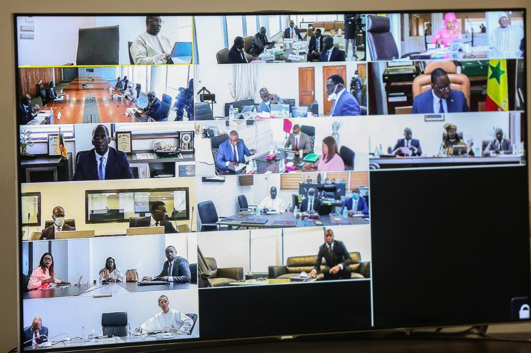 Conseil des Ministres : l'ADIE assure le dispositif de Visioconférence