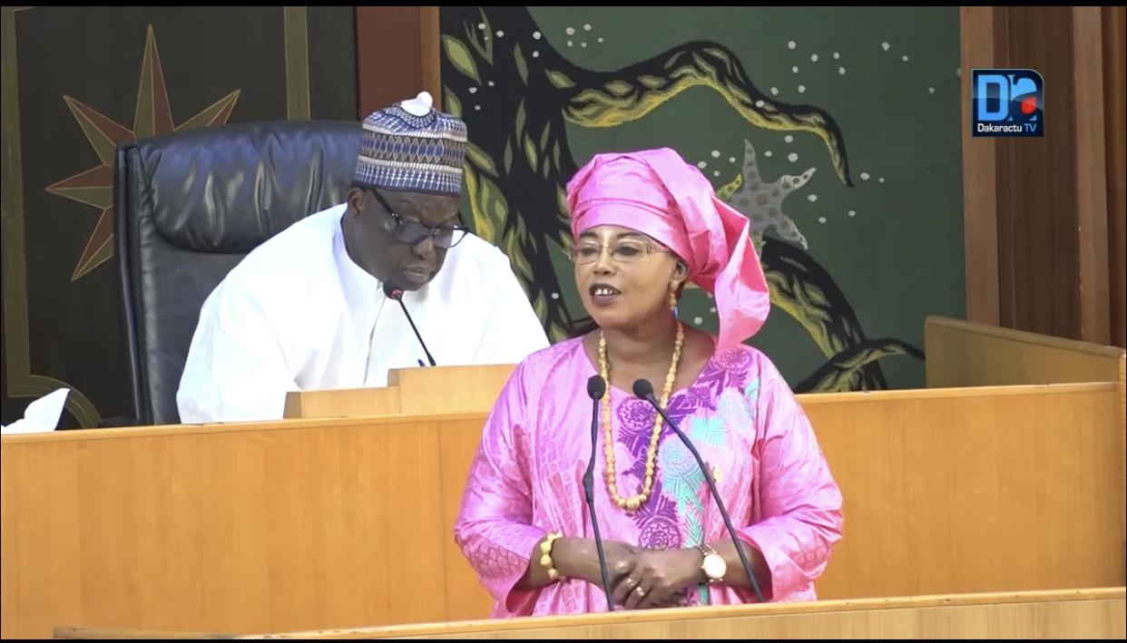 Vote de la loi d'habilitation : «Malgré nos différences (...) nous savons nous mettre ensemble quand l'essentiel s'impose» (Awa Guèye, député)