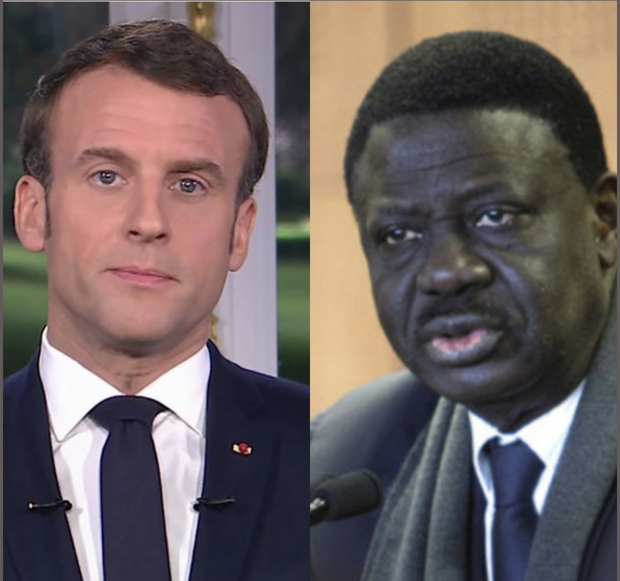 Décédé du COVID-19 : Emmanuel Macron rend hommage à Pape Diouf et présente ses condoléances à sa famille.