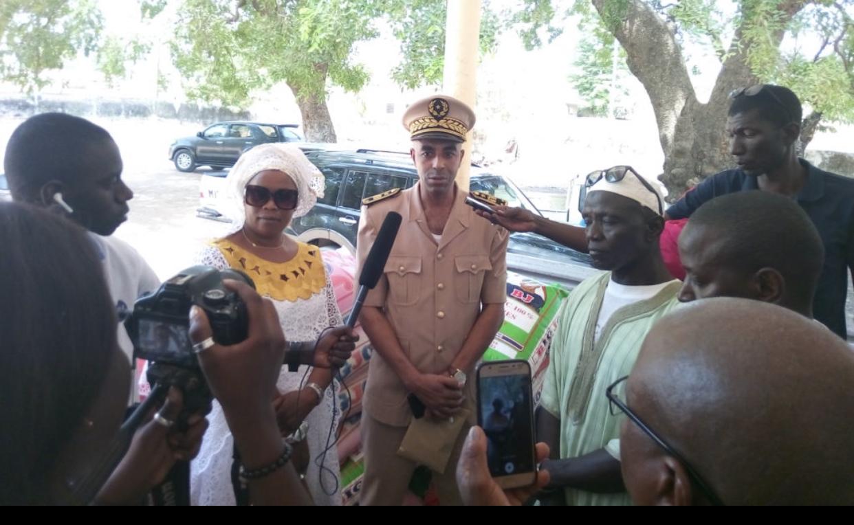 Vélingara (Kolda) : Diao Baldé Keïta décaisse une enveloppe de 10 millions de francs CFA pour appuyer la lutte contre COVID-19.