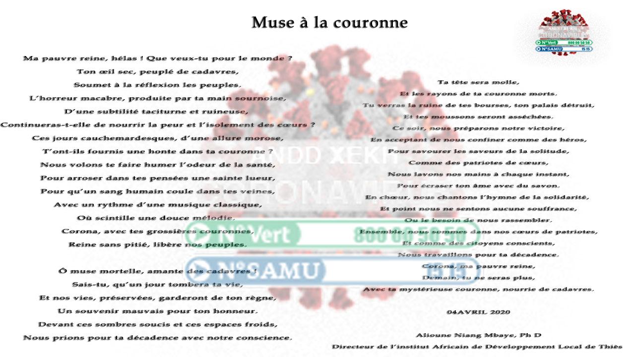 POÈME : Muse à la couronne.