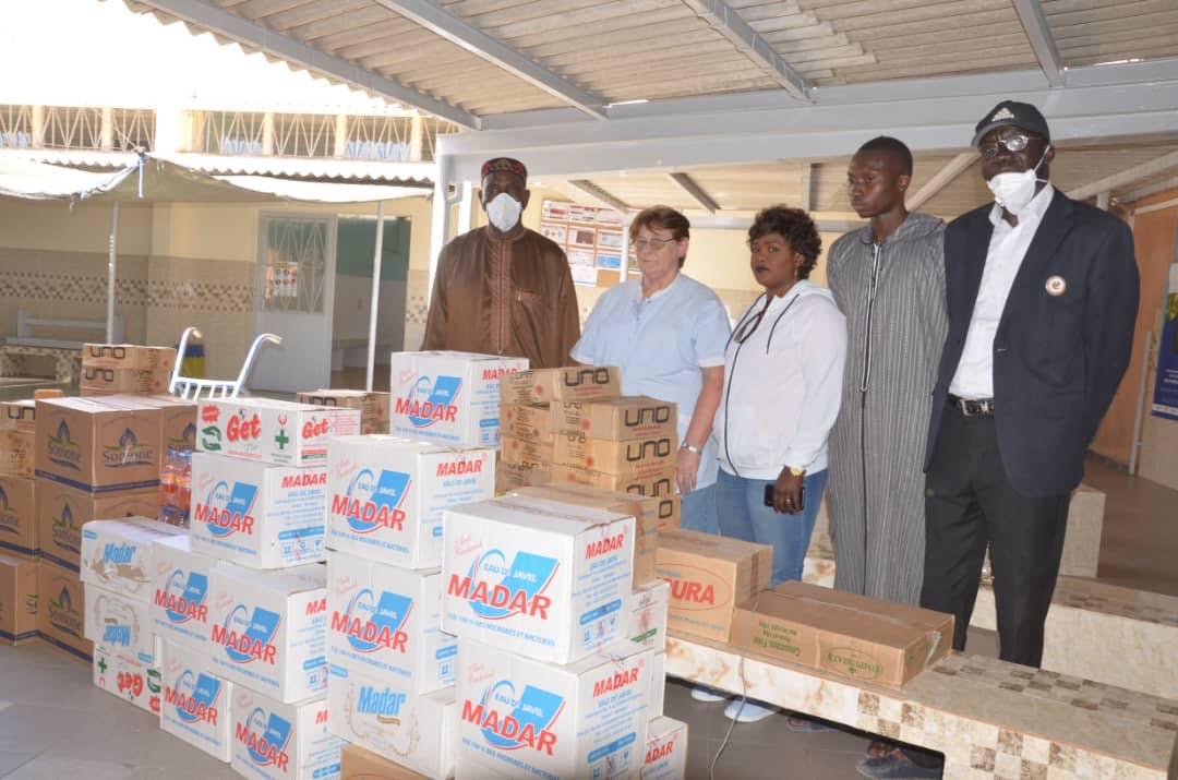 Médina / Lutte contre la Covid-19 : M. Cheikh Ahmed Tidiane Ba et la Catb au secours des structures de santé de la Médina.