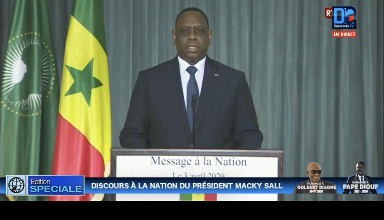 Fête de indépendance : Le président Macky Sall suspend toute manifestation dans le pays.