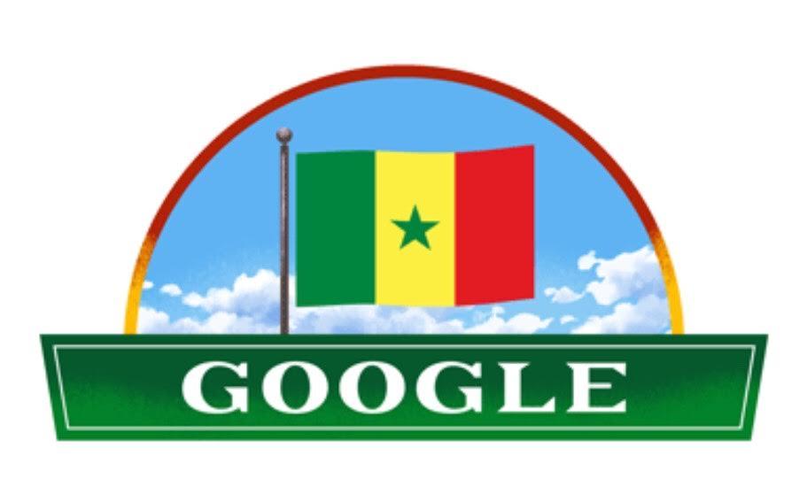 Indépendance : Google se met aux couleurs du Sénégal.