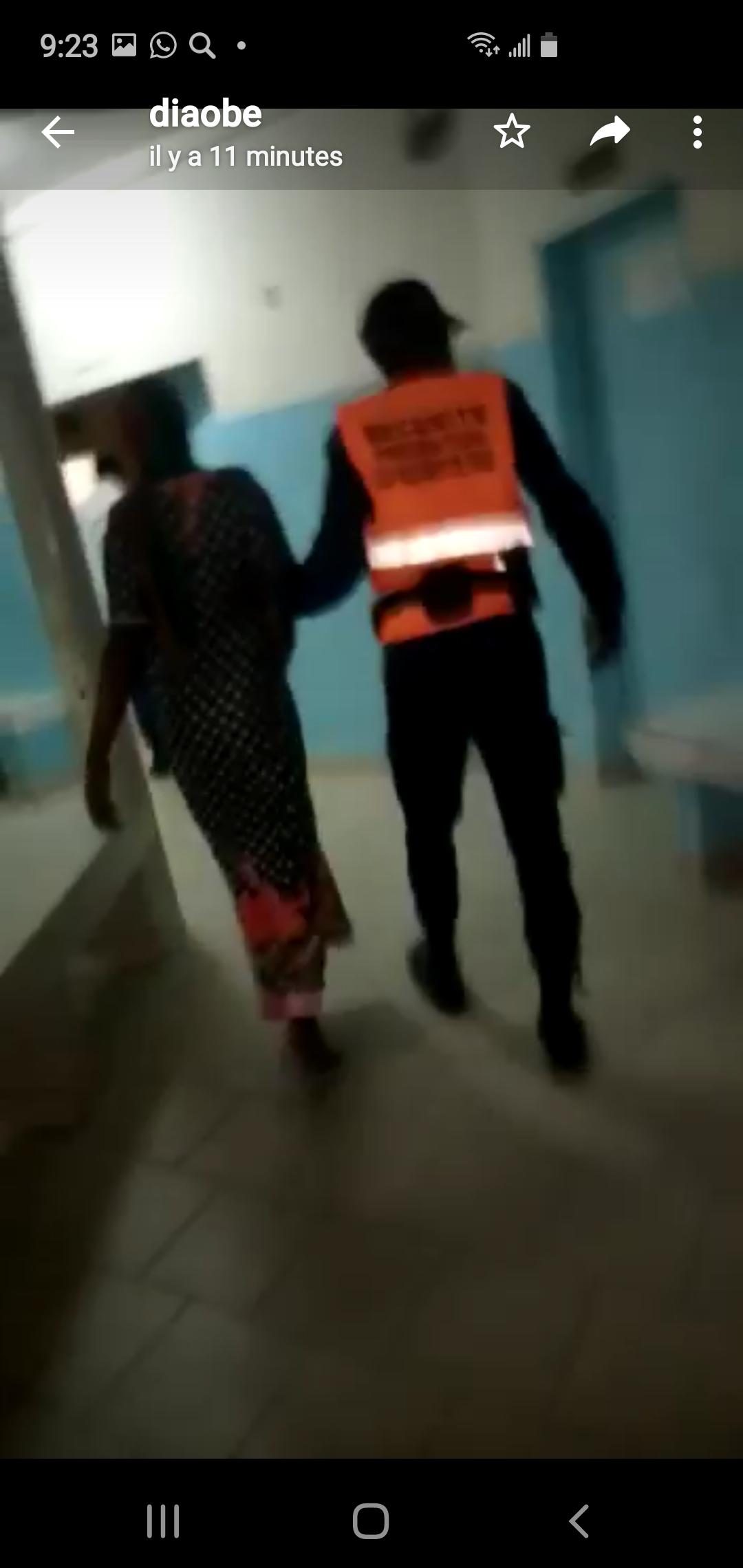 Couvre-feu à Touba / Une dame enceinte perd son bébé et échappe de justesse à la mort.