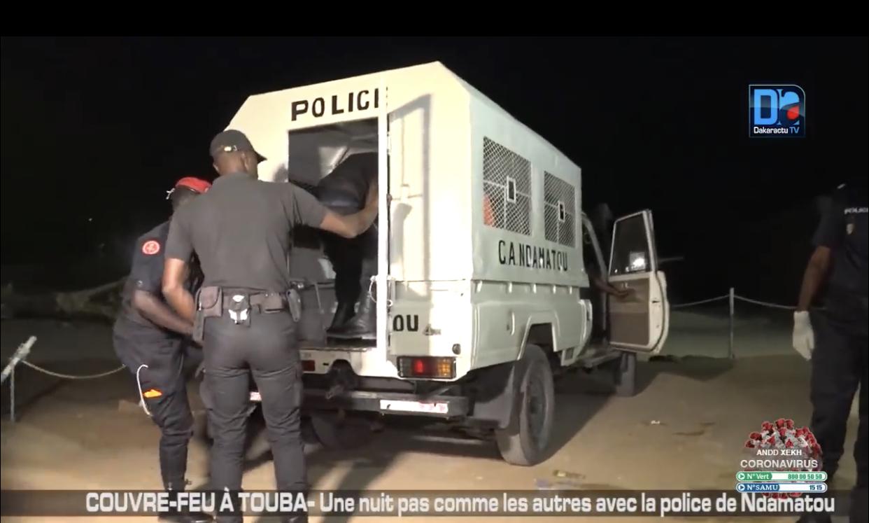 Bilan de 22 jours de couvre-feu à Dakar : 2057 personnes interpellées, 601 véhicules immobilisés…