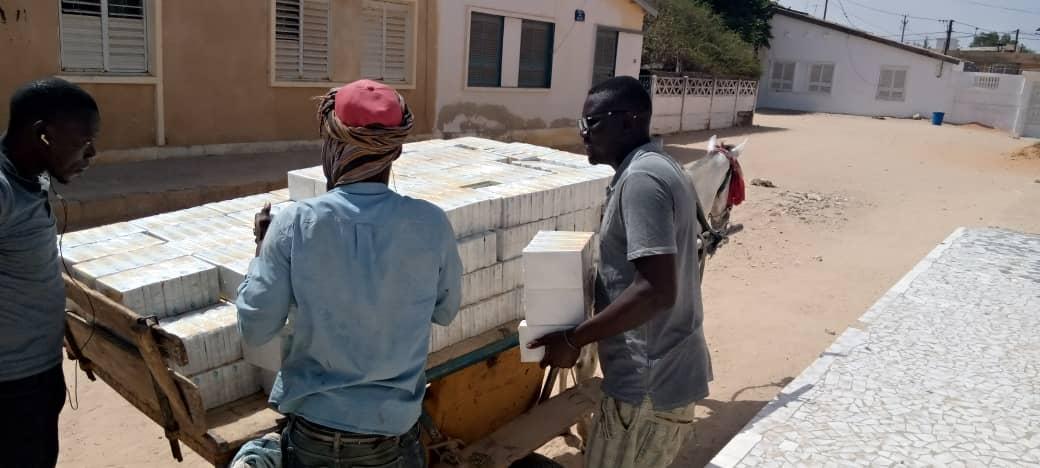Kaolack / Aide alimentaire : Adji Mergane Kanouté lance le concept «Une famille, 5 kilos de sucre»