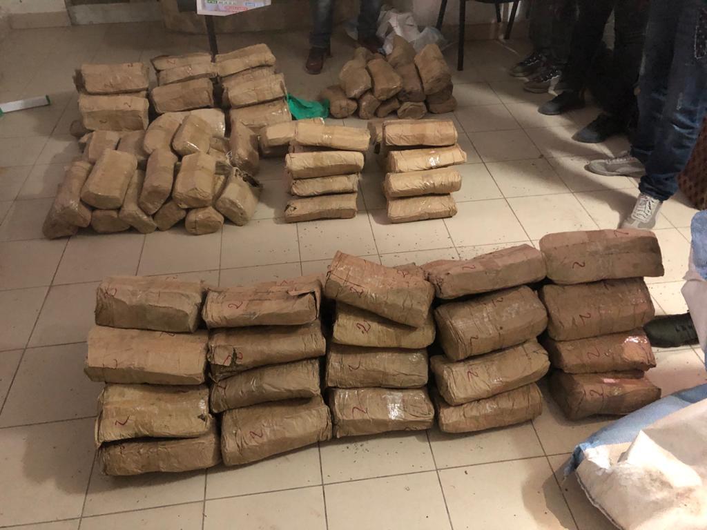 LUTTE CONTRE LE TRAFIC DE DROGUE : La Police saisit 135 kilogrammes de chanvre indien à Tivaouane.