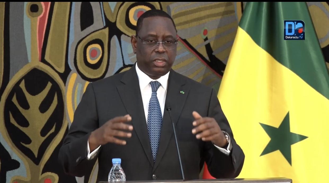 Macky Sall : «Face au Covid-19, une situation exeptionnelle de solidarité s'impose... La dépendance de l'Afrique de l'aide extérieure est une fausse perception»