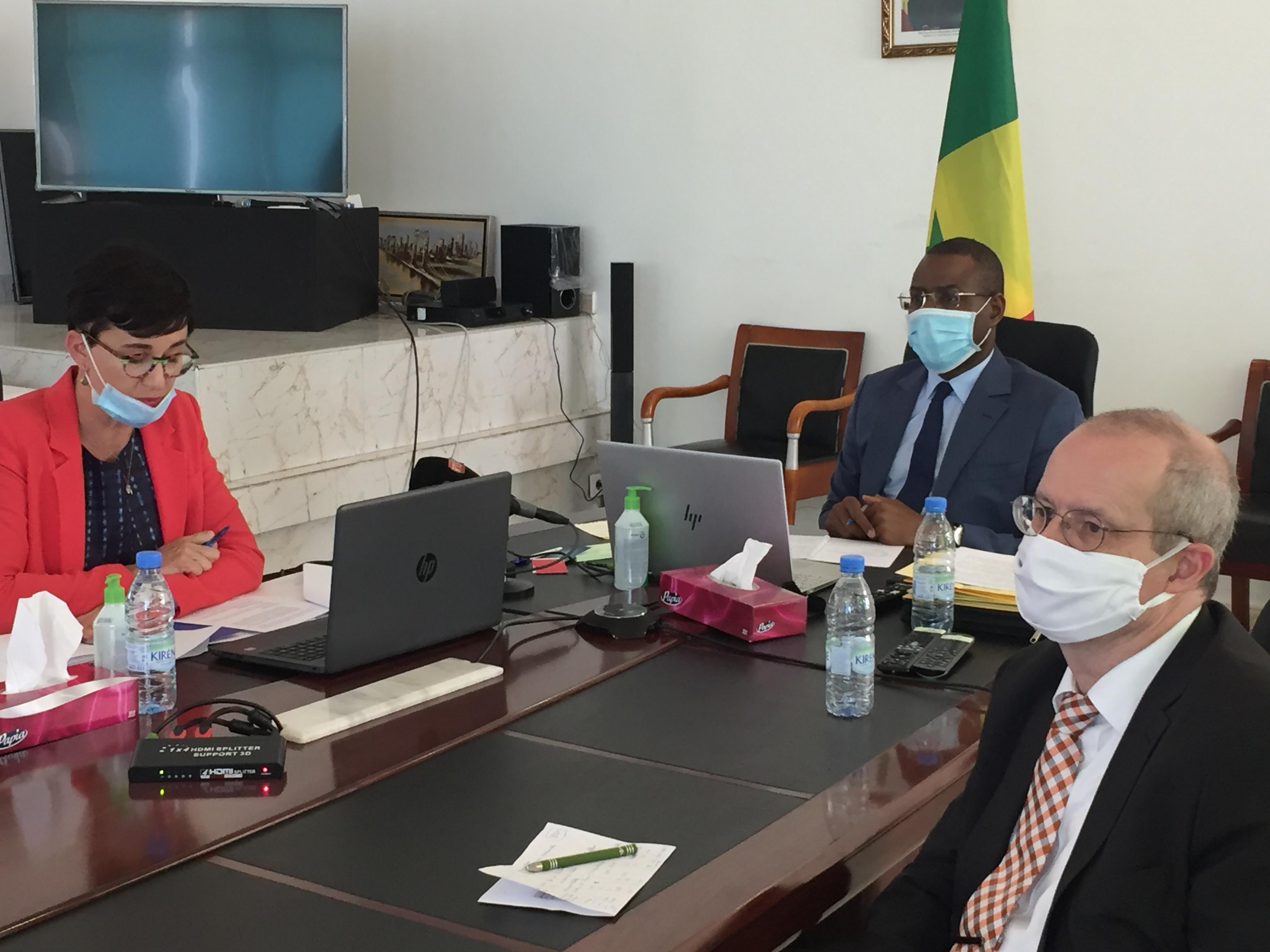Lutte contre le Covid-19 au Sénégal : L'Union Européenne contribue à hauteur de 100 milliards.