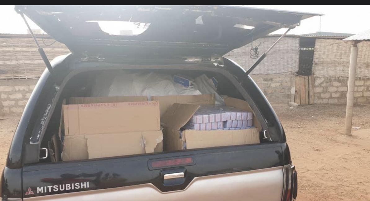 Ziguinchor / La douane a fait une saisie de marchandises d'une valeur de 05 millions