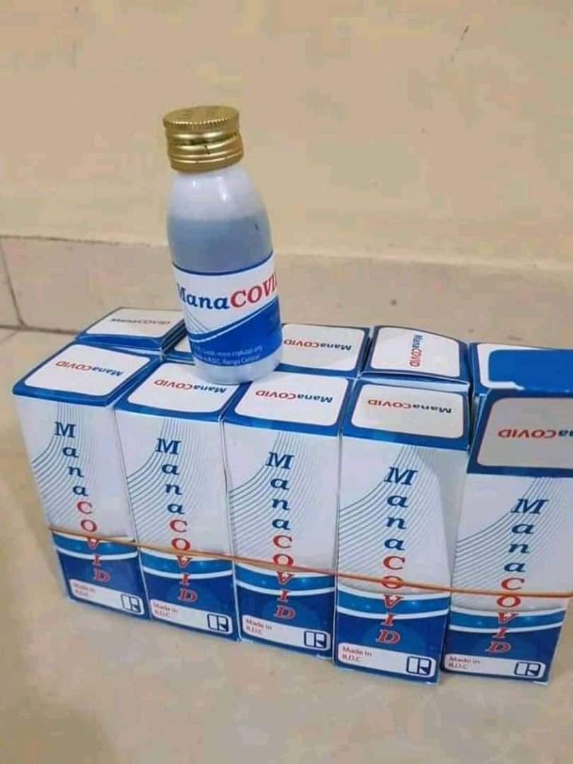 Le Manacovid ou le remède congolais contre le COVID-19.