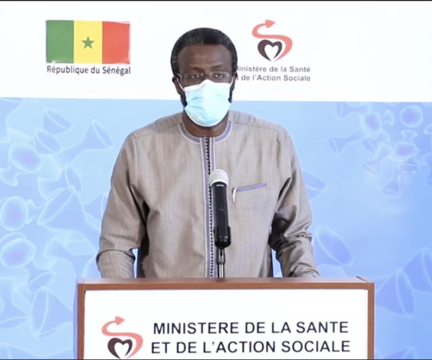 Dr Bousso : «Depuis le depuis de la pandémie, nous avons réalisé 11.032 tests... Nous avons eu au total 14 cas graves et les 9 sont décédés.»