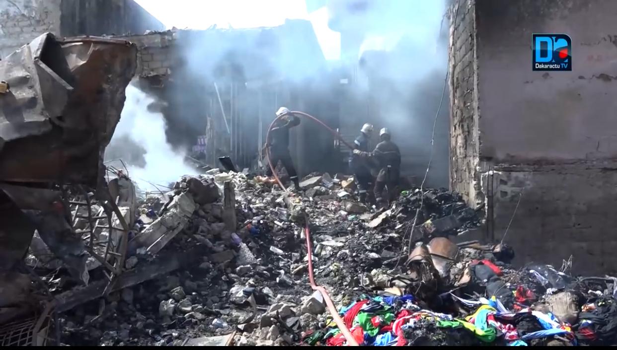 Koungheul / Incendie à Ngouye Jaraaf Mouride : Plusieurs concessions consumées.