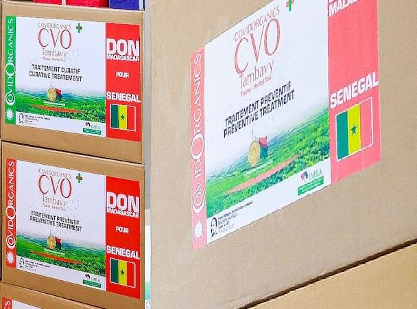 Covid-Organics : les échantillons offerts au Sénégal convoyés par la Guinée Bissau.