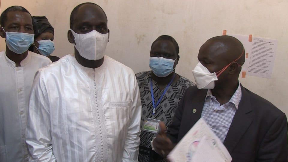 """Abdoulaye Diouf Sarr, ministre de la Santé : """"Nous avons emmené tout le matériel nécessaire en terme d'équipement, mais aussi en terme de moyens de plateau"""""""