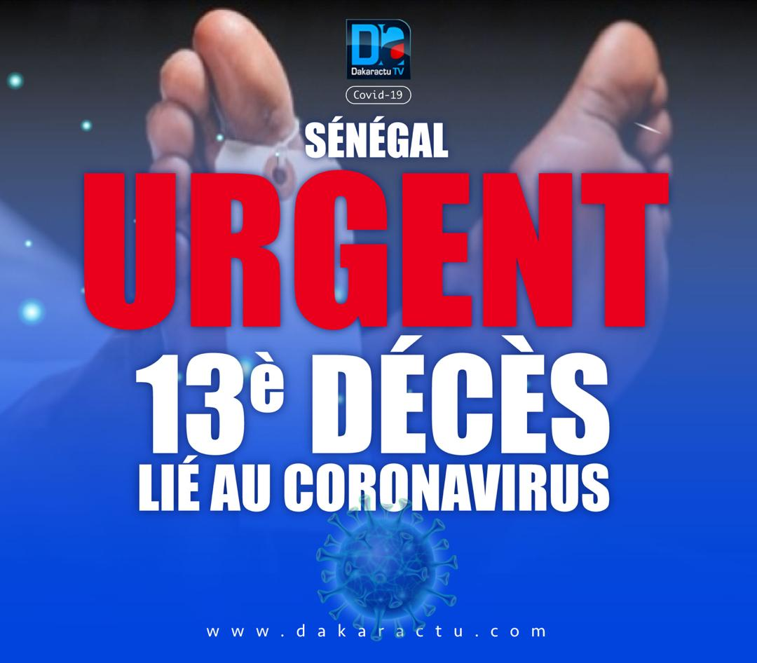 Coronavirus : Quatre nouveaux décès de plus en 48 heures au Sénégal