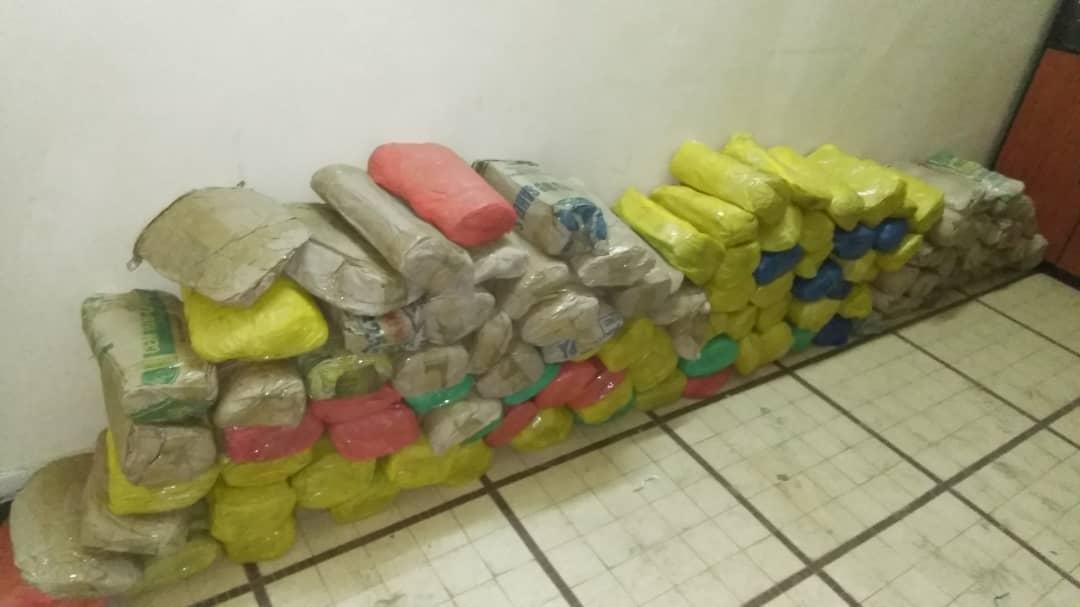 LUTTE CONTRE LE TRAFIC DE DROGUE : La Police saisit 147 kilogrammes de chanvre indien à Kaolack.