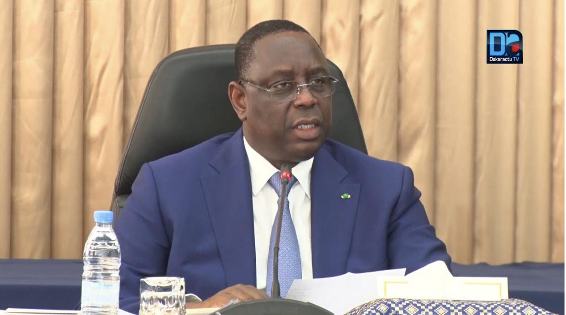 COVID-19 : Le message du président Macky Sall aux Sénégalais.