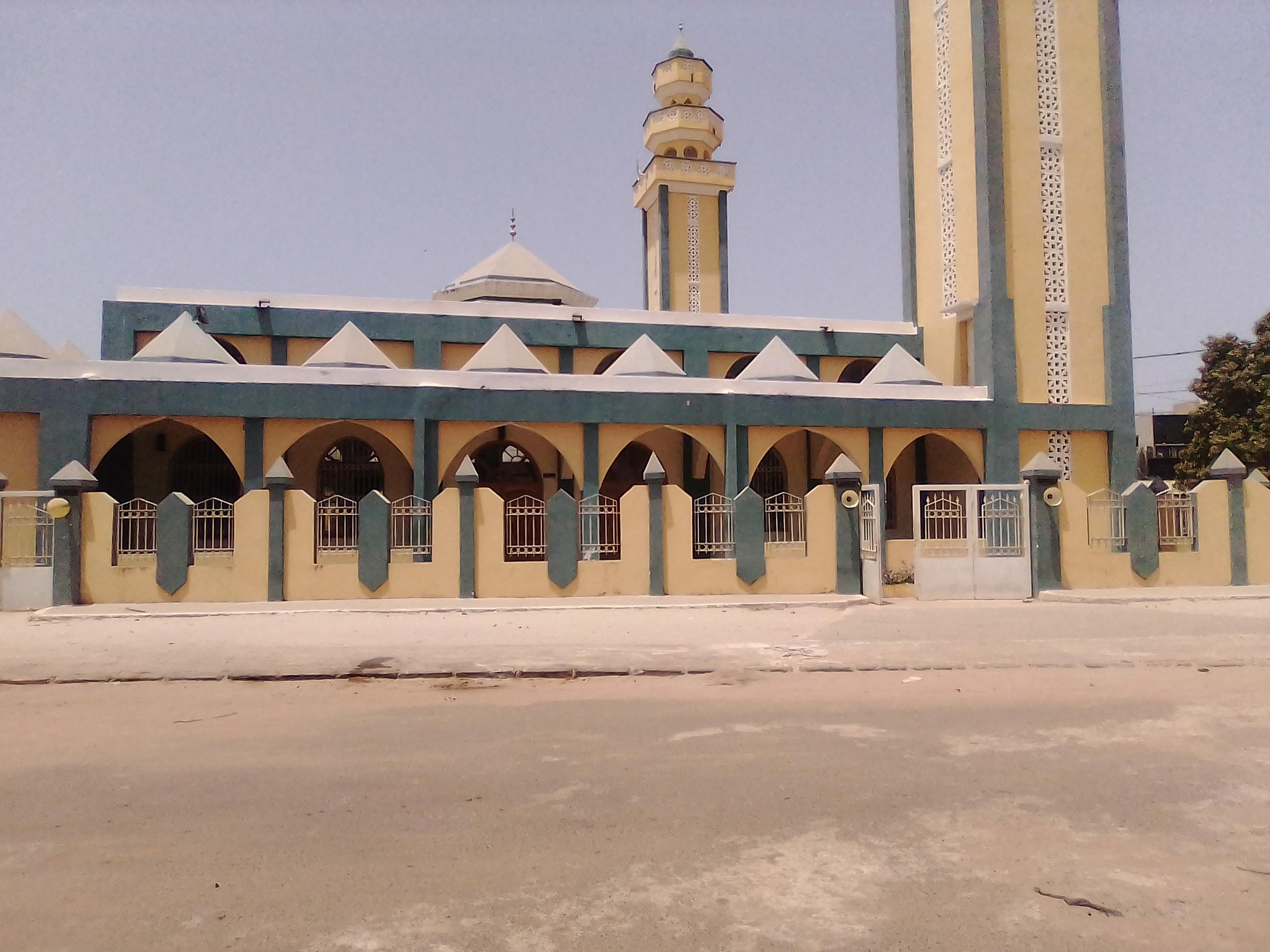 KOLDA : La grande mosquée va prier ce vendredi.