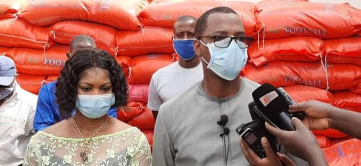 (IMAGES) KOLDA / Mameboye Diao dégaine 150 tonnes de riz, 10 t de sucre et 5.000 litres d'huile.
