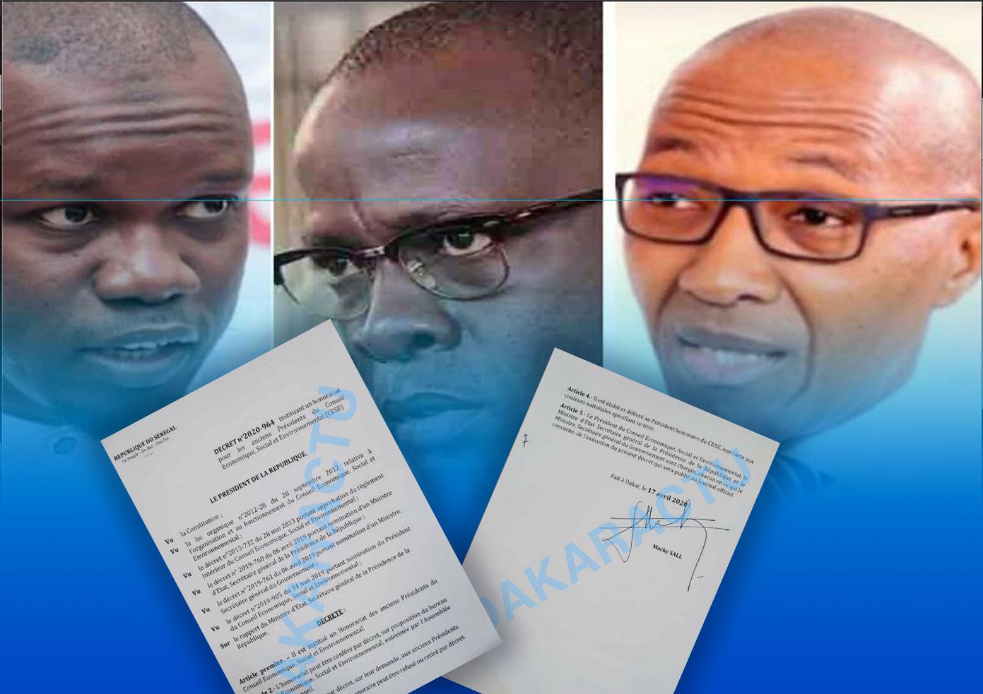 Révélations documentées  !!! : Yakham Mbaye exhibe l'authentique décret 2020-964, accable Abdoul Mbaye et menace Bassirou Diomaye Faye de Pastef