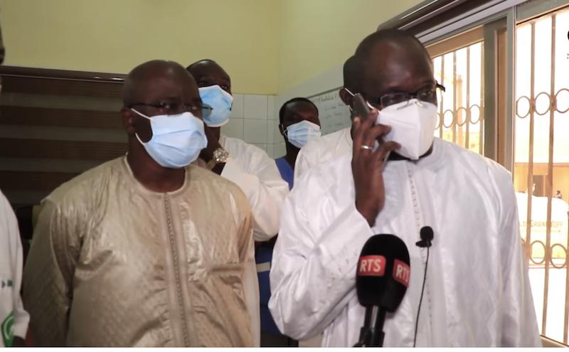 Hôpital Grand Yoff : La « Ziarra »  du ministre de la Santé aux personnels qui passent la Korité loin de leurs familles