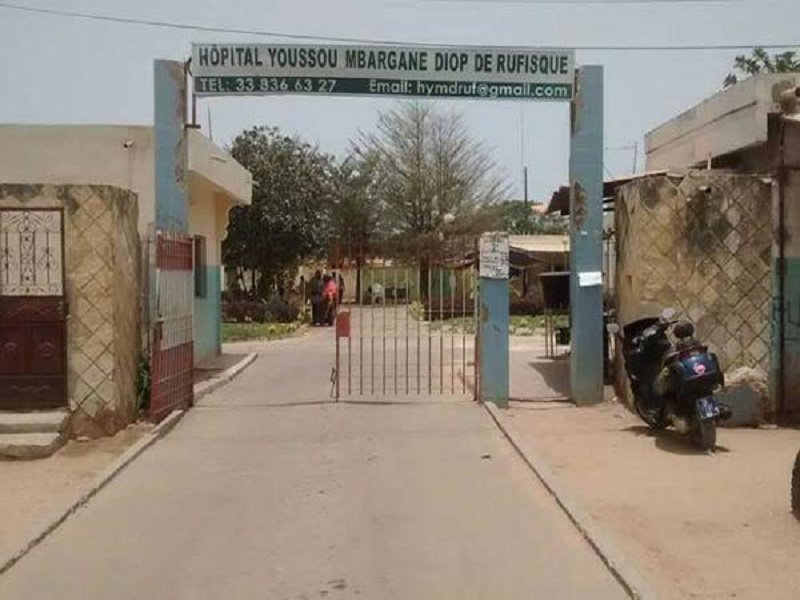 Covid-19 : Peur bleue à l'hôpital Youssou Mbargane de Rufisque.