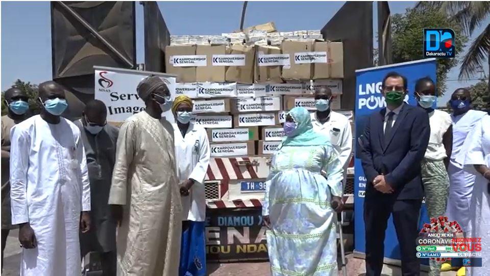 Aide à la Solidarité :  La Filiale Karpowership Energie Sénégal distribue des dons d'une valeur de 60 millions à l'hôpital Albert Royer et au Daara Ali Imrane