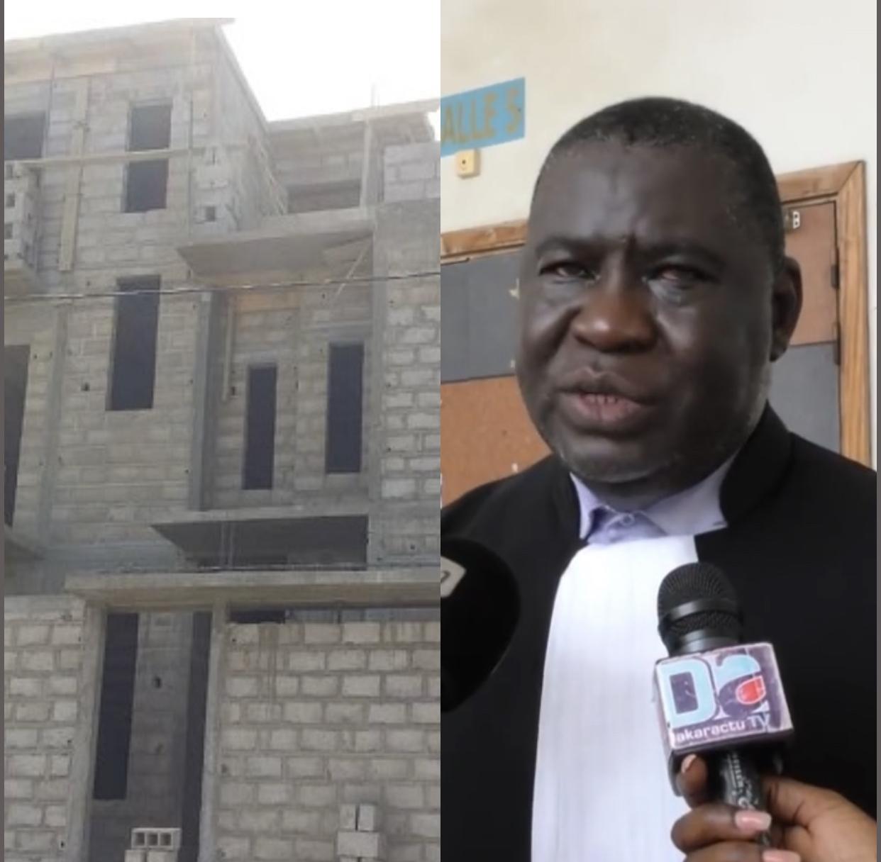 Litige foncier : L'émigré  El Hadj Falilou Diop et Me Assane Dioma Ndiaye se disputent la propriété d'un terrain situé sur le Tf 1195/MB sis à Grand Mbour.
